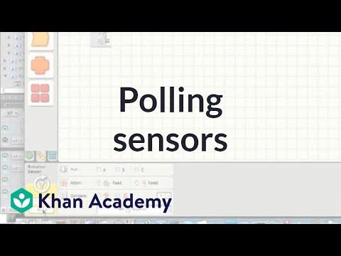 Polling sensors (video) | Coin detector | Khan Academy