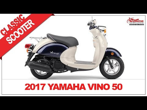 2017 Yamaha Vino 50 Classic Scooter Price Specs Review