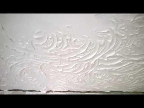 красивый и простой рельефный потолок своими руками