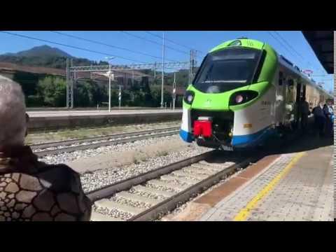 In viaggio da Legnano a Luino con il nuovo treno Donizetti