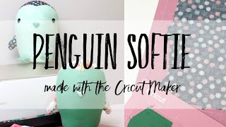 Penguin Sewing Pattern For A Stuffed Animal