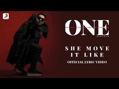 Badshah - She Move It Like | ONE Album | Lyrics Video Mp3