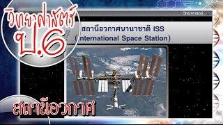 สื่อการเรียนการสอน สถานีอวกาศ ป.6 วิทยาศาสตร์