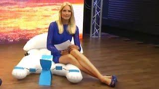 Tretboot-Luftmatratze mit Anne-Kathrin Kosch