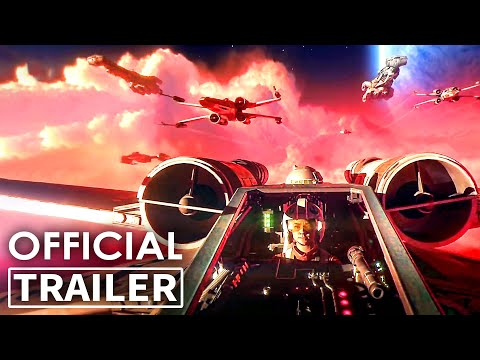 STAR WARS SQUADRONS Trailer (Game, 2020)