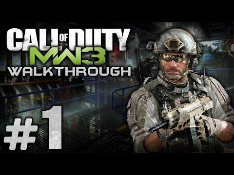 Прохождение Call of Duty: Modern Warfare 3 — Миссия №1: ПРОЛОГ / ЧЕРНЫЙ ВТОРНИК