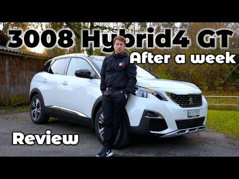 Peugeot 3008 Hybrid4 GT 2020 In Depth Review After 1 week of Test