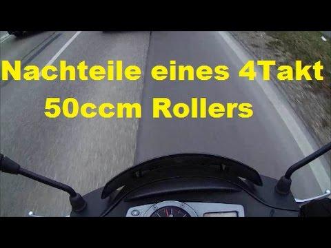 Nachteile eines 4Takt 50ccm Rollers