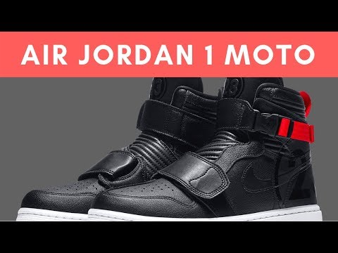 The Motorsports Inspired Air Jordan 1 Appears In Black And Red