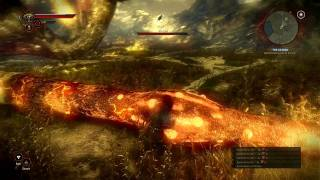 The Witcher 2 - Killing the Kayran the easy way without losing health! [HD]
