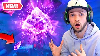 the Cube just EXPLODED...