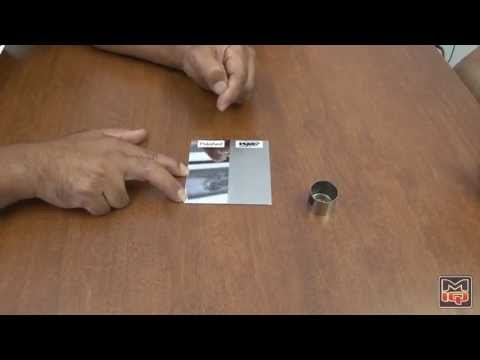 WPC Metal Surface Treatment Demo #1 of 2