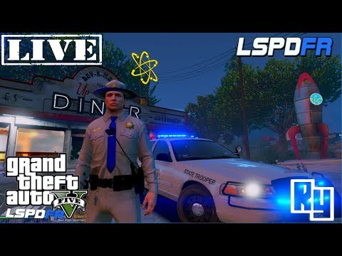 LIVE: GTA 5 LSPDFR San Andreas Highway Patrol (RyBux Winner Announced)