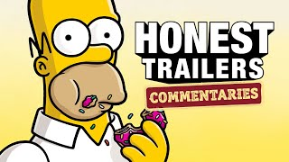 Honest Trailers Commentary | The Simpsons Movie by Clevver Movies