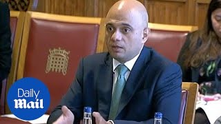 Sajid Javid frustrated by lack of info for Brits in the EU - Daily Mail