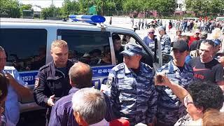 В Петропавловске эмоционально прошел митинг против повышения пенсионного возраста