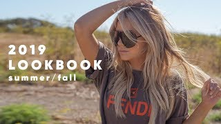 2019 Lookbook - Outfits For Summer + Fall