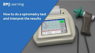 How to do a spirometry test and interpret the results