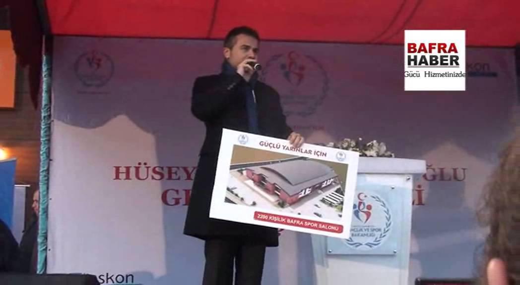 Bafra Gençlik Merkezi törenle açıldı