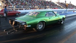 PRO STREET DRAG RACING - Tulsa Raceway Park