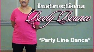 How to Do Booty Bounce Line Dance-Instructions