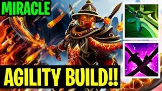 Agility Build To Ember Spirit!! - Ember Spirit Miracle - Dota 2