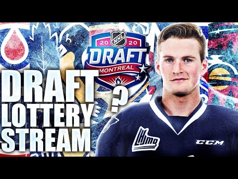 SECOND NHL DRAFT LOTTERY STREAM (Alexis Lafreniere Sweepstakes Livestream) 2020 NHL Entry Draft News