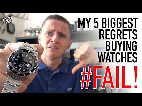 I Wasted Thousands Buying Watches! – My Top 5 Regrets – Rolex, Seiko, Omega & Breitling