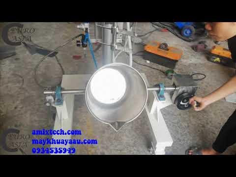 Máy khuấy xà phòng handmade tự động 20 lít lh 0934535949 Á Âu