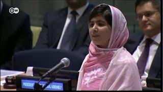 Малала Юсуфзай - самый молодой лауреат Нобелевской премии мира