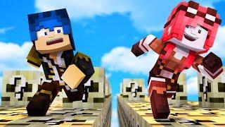 Minecraft ITA - LA CORSA DEI LUCKYBLOCK MORTALI!!