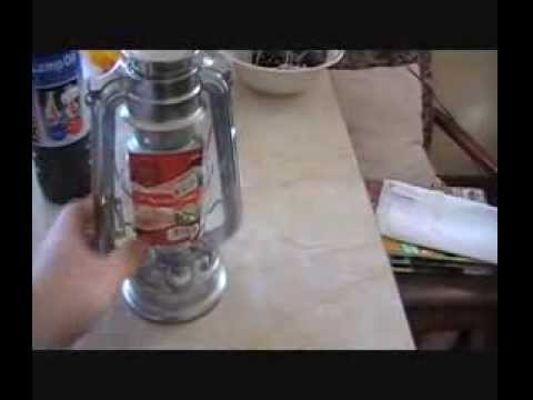 Oil Lamp / Hurricane Storm Lantern - How they work & How to use them