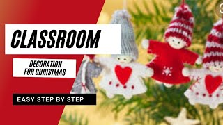 29+ Stunning Classroom Decorations For Christmas Ideas