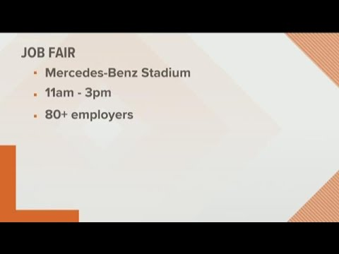 Job fair for veterans and military spouses at Mercedes-Benz Stadium on Thursdayo
