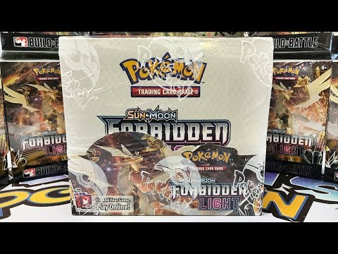 Forbidden Light Pokemon Booster Box Opening – Best Box So Far?