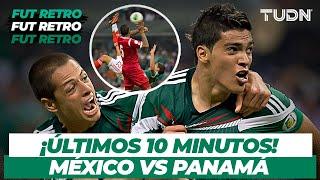 Fut Retro: ¡Partido cardíaco! México vs Panama | Eliminatorias Brasil 2014 | TUDN