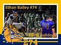 Ethan Bailey #74 EBHS vs Mid Buchanan 10-8-2021