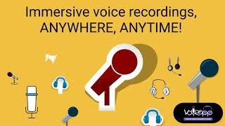 Immersive voice overs through professional artists @Voyzapp
