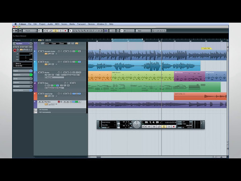Cubase 7 Quick Start Video Tutorials – Chapter 6 – Advanced audio recording and processing (1/2)
