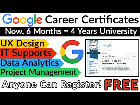 Google Career Certificate | Professional Certificate Courses by ...