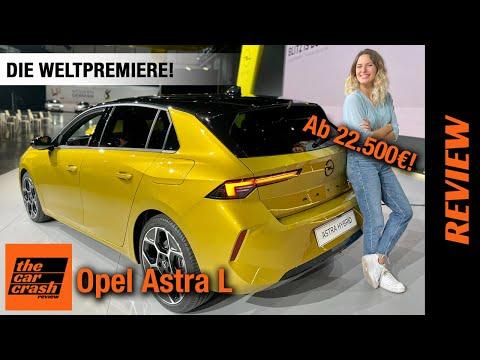 Opel Astra L (2022) Die Weltpremiere des NEUEN Kompakten ab 22.500€! Review   Test   Hybrid   Kombi
