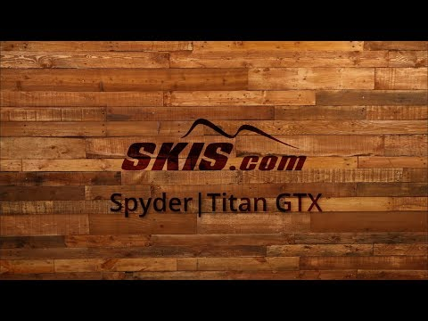 Video: 2020 Spyder Titan GTX Men