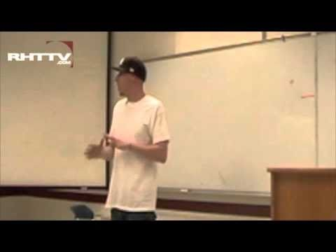You Must Learn - Stess The Emcee visits FSU's Hip-hop in America course