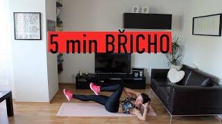 Krátké cvičení na břicho   5 minut 40/20 sekund   MonikaHIIT