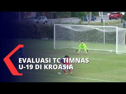 evaluasi tc u- di kroasia fisik pemain timnas indonesia terus digenjot