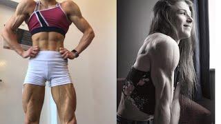 Shredded Beauty Emily Brand - Female Bodybuilding Motivation