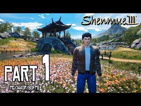 Gameplay de Shenmue III