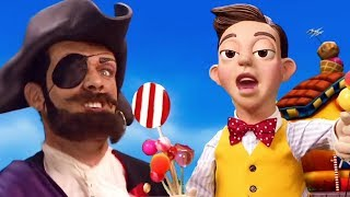 LAZY TOWN MEME THROWBACK | Lazy Town Mine Song but the word 'Mine' is replaced with 'Pirate'