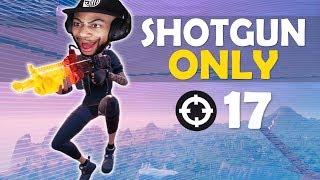SHOTGUN ONLY   HIGH KILL FUNNY GAME - (Fortnite Battle Royale)