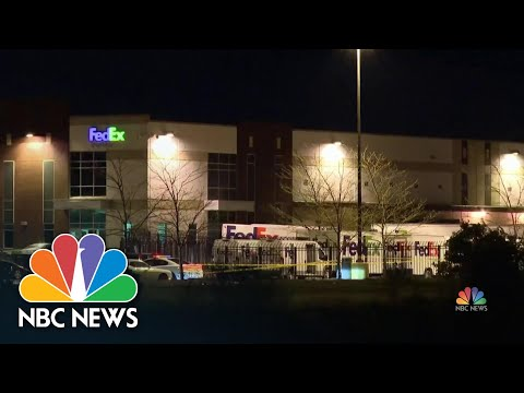 Gunman Kills 8 And Injures At Least 4 Others At FedEx Facility | NBC Nightly News